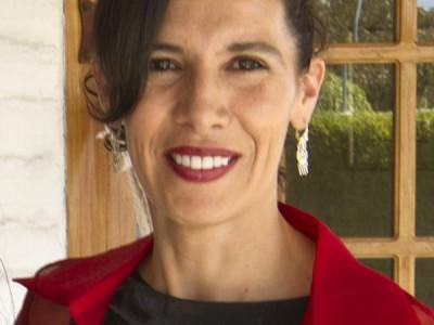 Portrait of Andrea Encelada.